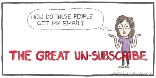 Sinicki great unsubscribe preview