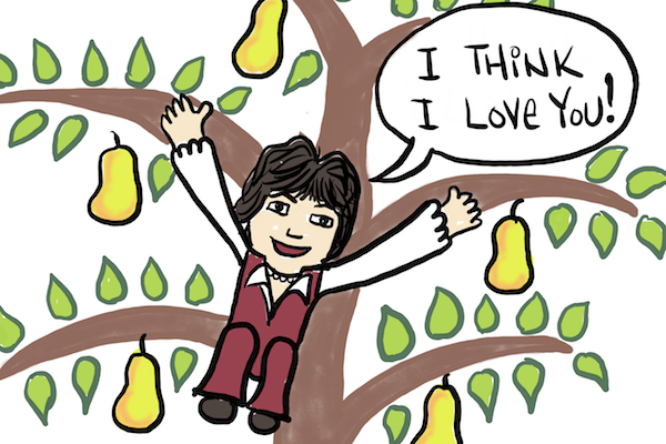 Partridge in a pear tree Lisa Sinicki comic